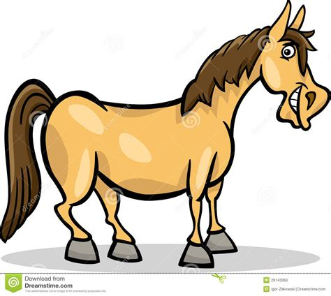 cavallo clipart farm animal illustration stock photo image