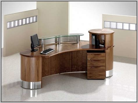 Curved Computer Desk Design Ideas Reception Desk Ideas Diy Cheap Affordable And Gorgeous Reception Desks Chic Diy Reception Desk