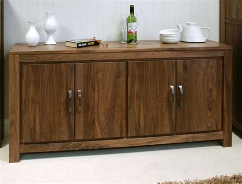 mayan large  living dining room sideboard solid walnut