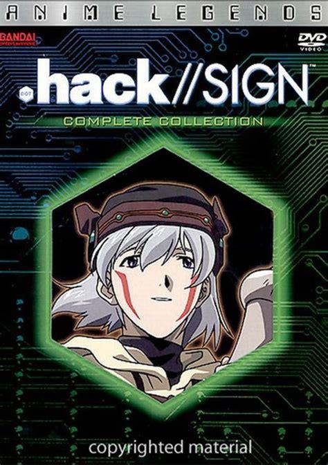 film hacker anime hack sign anime legends complete collection dvd 2002