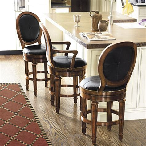 Kitchen Bar Chairs With Arms Berkshire Counter Stool With Arms Traditional Bar