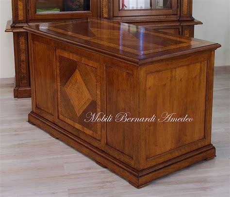 scrivania legno scrivanie in noce massello 2 scrivanie e scrittoi
