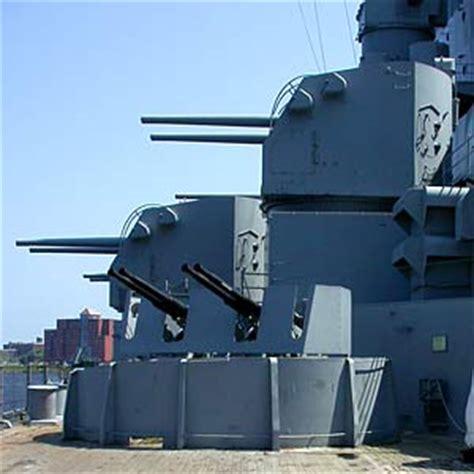 5 inch naval gun turret battleship uss massachusetts bb 59 at battleship cove