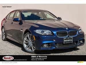 2016 mediterranean blue metallic bmw 5 series 528i sedan