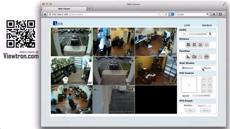 ip web viewer mac hd security viewer for viewtron surveillance
