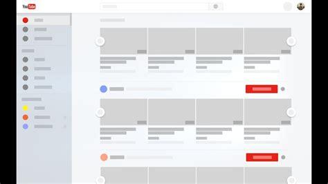 concept design youtube youtube concept ui fluent design windows 10 uwp app