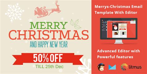 merry email template merrys email template with editor by emailmad