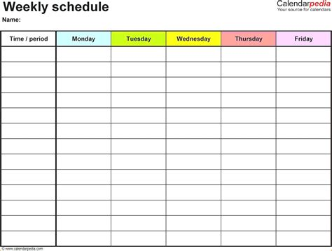 weekly agenda template weekly agenda template microsoft cool green
