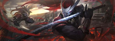 rengar  yasuo league  legends hd games