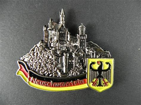Souvenir Germany Magnet Kulkas Germany magnet metal castle neuschwanstein germany souvenir germany