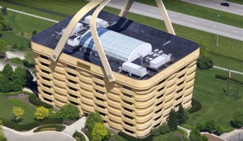 Longaberger Basket Building For Sale | longaberger basket building for sale fake picture of
