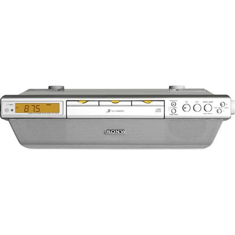 sony under cabinet kitchen cd clock radio sony icf cdk70 under cabinet kitchen cd clock radio