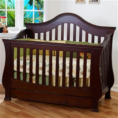 Million Dollar Baby Classic Ashbury 4 In 1 Sleigh Convertible Sleigh Bed Crib