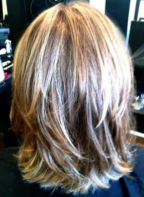 Layered Hairstyles For Medium Hair At Home by 15 Best Ideas Of Medium Length Layered Bob Hairstyles