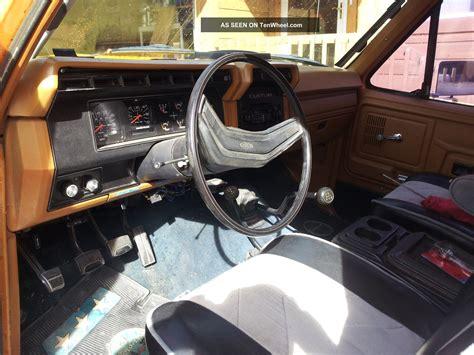 1980 ford bronco 390 big block v8 4 spd 4x4 custom