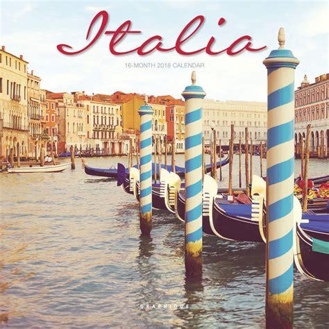 Calendrier Italie Mini Calendrier 2018 Italie
