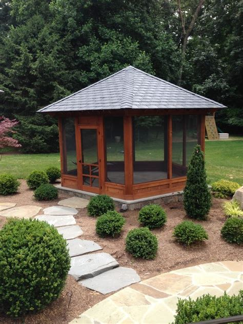 Stand Alone Patio stand alone screened porch on patio contemporary
