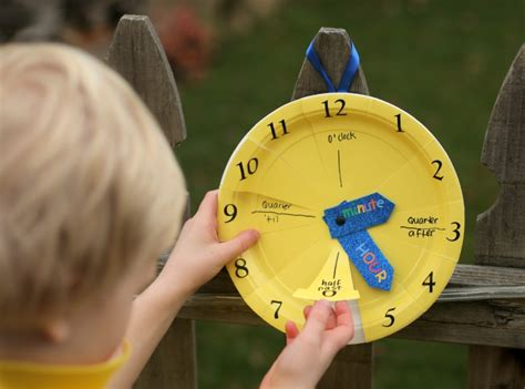 How To Make A Clock With Paper - 10 tips for all day kid creativity 183 kix cereal