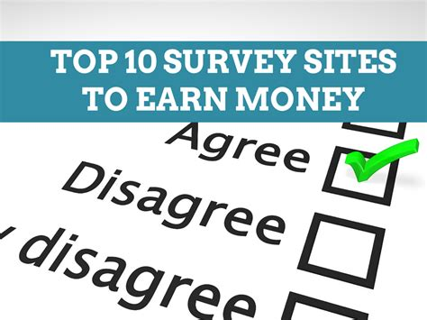Best Paid Survey Sites - top eleven survey sites for side income one cent at a time