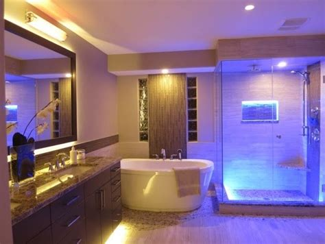 Bathroom How To Choose The Best Led Bathroom Vanity Lights Lights And Ls by Where Can I Use Led Strips Slb