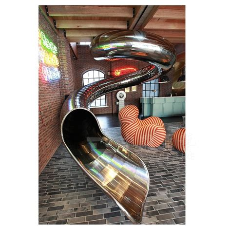 Pisau Handmade Bahan Stainless Steel stainless steel spiral slides custom interior stainless steel slides factory beijing buy
