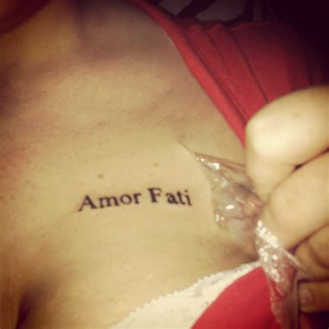 my quot amor fati quot tat tattoos pinterest tat and amor