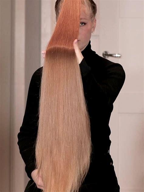 video super long ponytails realrapunzels