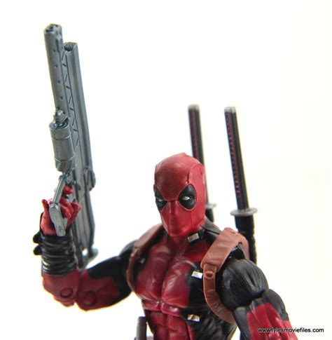 deadpool review marvel legends deadpool figure review build a