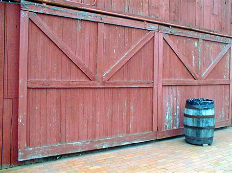 Build A Sliding Barn Door Barn Door Construction