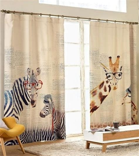 giraffe curtains 20 giraffe home decor ideas that are simply adorable