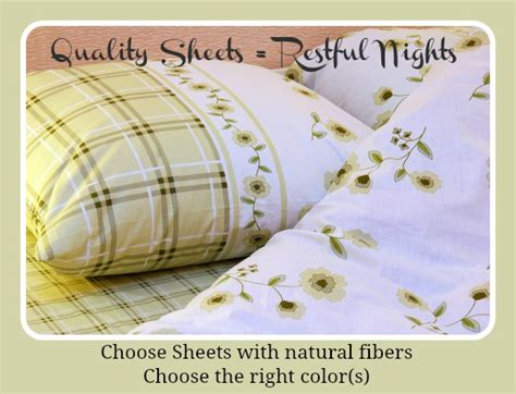 how to choose sheets do the sheets you choose make a difference in your sleep