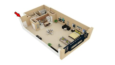 1 Room Studio Apartment Floor Plan - 22 simple studio apartment floor plans