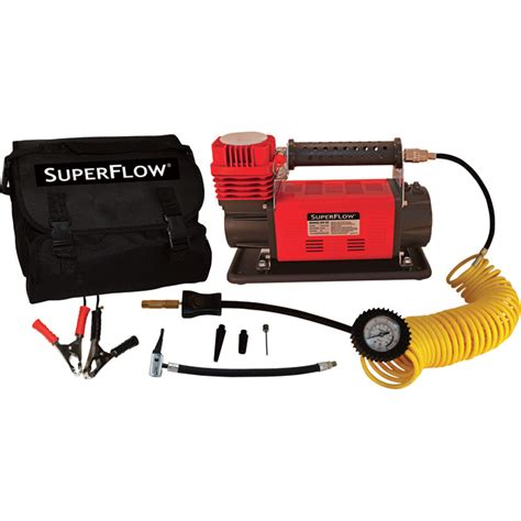 q industries superflow mega air compressor 12 volt 120 psi model mv 90 inflators