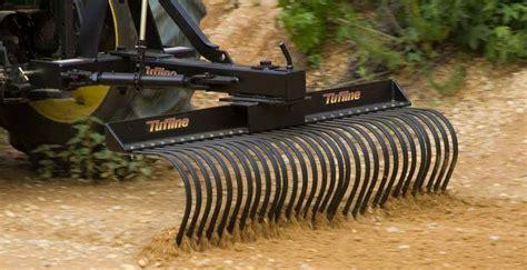 Offset Landscape Rake Tufline Landscape Rakes Open Country Farm Equipment Sales
