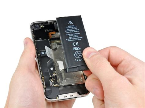 iphone 4 verizon battery replacement ifixit repair guide