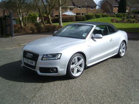 Audi A5 Cabrio S Line by Audi A5 Convertible S Line In Kirkcaldy Fife Gumtree