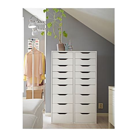 Alex 9 Drawer by Alex Drawer Unit With 9 Drawers White 36x115 Cm