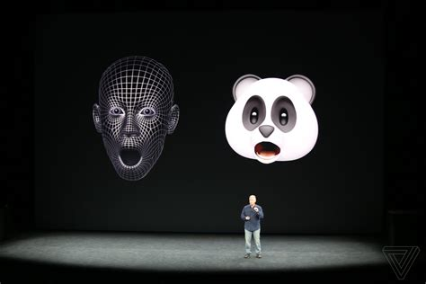 iphone x emoji apple announces animoji animated emoji for iphone x the verge
