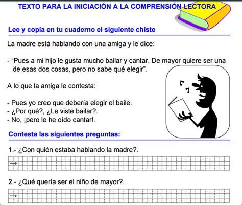 preguntas comprension de texto m 193 s de 200 fichas de comprensi 211 n de textos cortos para 1 186 y 2 186