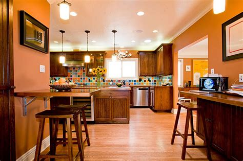 burnt orange kitchen wall colors 24 spaces