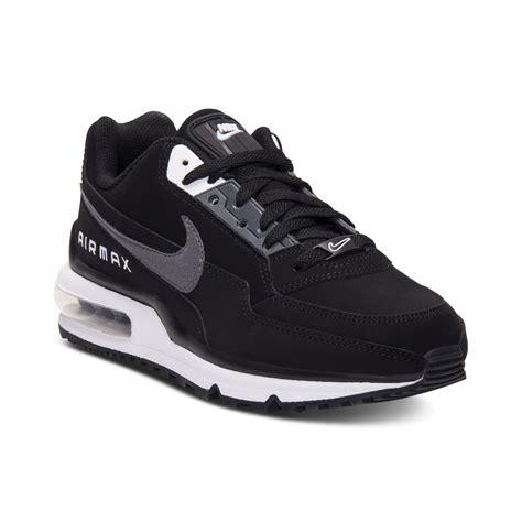 nike air max sneakers for nike air max ltd running sneakers in black for lyst