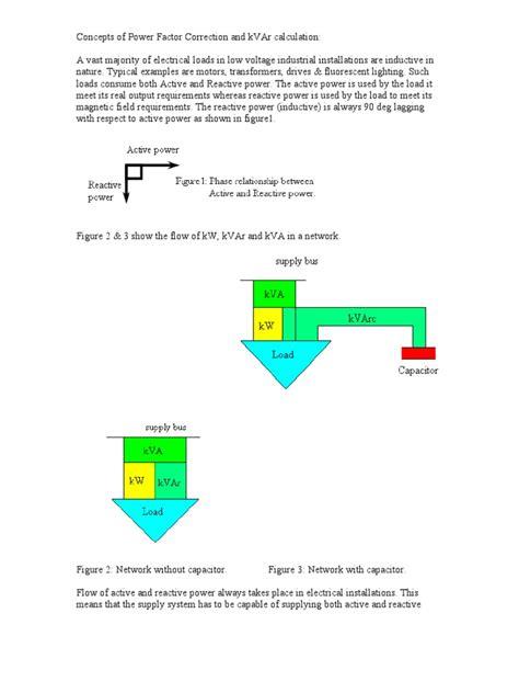 capacitor calculation kvar calculation of kvar ac power capacitor