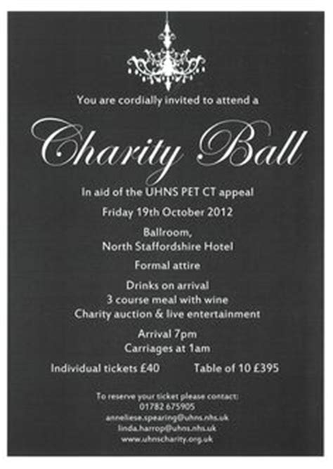 charity dinner invitation letter free printable dinner invites for your galas and
