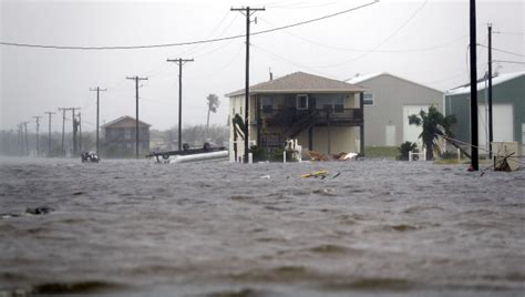 Awning Walls At Least One Dead As Hurricane Harvey Drenches Texas Coast