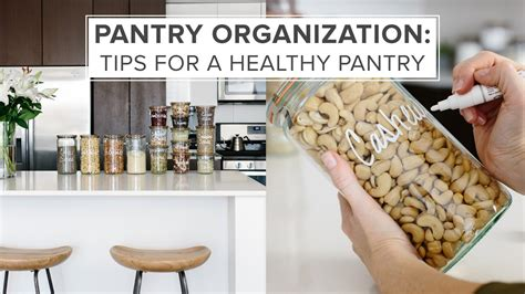 how to keep your pantry organized healthy pantry organization ideas tips for a healthy pantry
