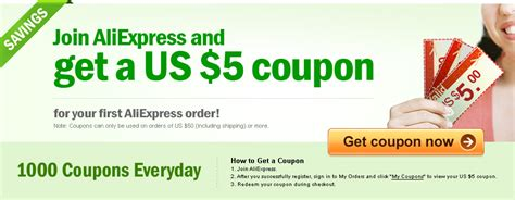 aliexpress free coupon aliexpress 5 coupon