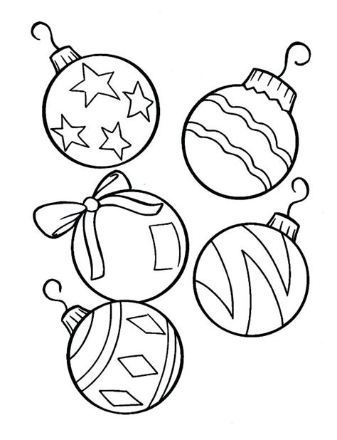 baubles templates to colour free coloring pages baubles template to colour