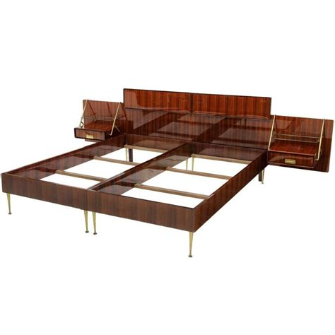 Vancouver Bed Frame W Floating Foot Bedroom Furniture Forty Winks Silvio Cavatorta Bed With Floating For Sale At 1stdibs