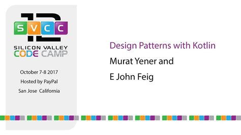design pattern kotlin design patterns with kotlin at silicon valley code c