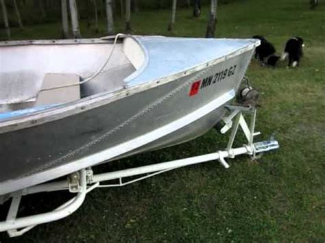 remodel runabout boat 1954 crestliner buccaneer walk around youtube